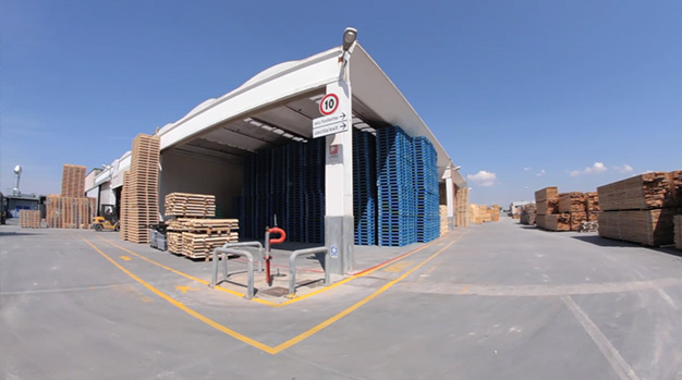 Sacchi Pallets: la nostra struttura logistica